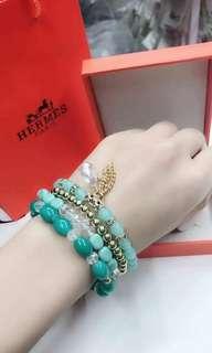 Set Bracelet with German Crystal
