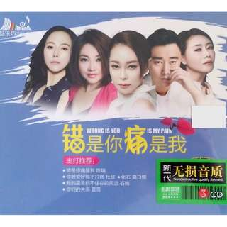 Wrong Is You Is My Pain 错是你痛是我 3CD (Imported)