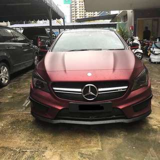 Merc CLA45 CONTINUE LOAN