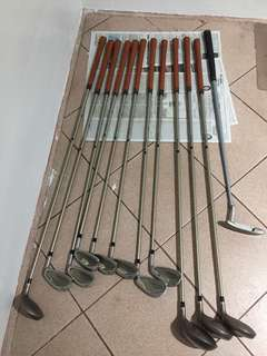 Used Wilson golf clubs need regripping
