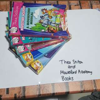 Thea Stilton and Mouseford Academy books