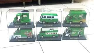 Limited Edition Big Milo Van Complete Set