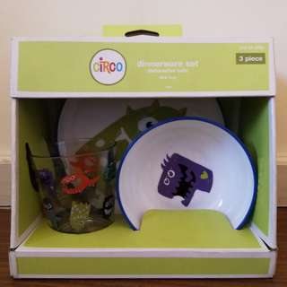 Circo Monsters Dinnerware Set