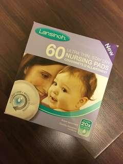 🌴Lansinoh Nursing Pads (58pcs)