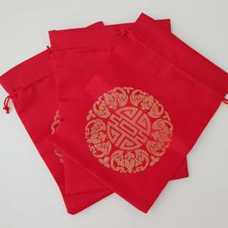 Red pouch lucky pouch wedding decor guodali