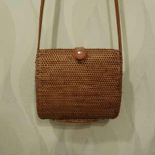 Bali Square Bag (Brand New)