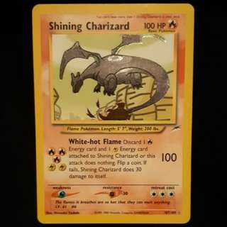 Shining Charizard Pokemon Card