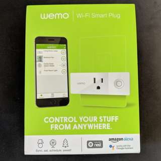 NEW Wemo WiFi Smart Plug