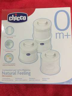 Chicco Milk Container
