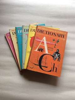 The Golden Book Illustrated Dictionary (good for pre-schoolers)