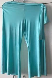Turquoise Culottes
