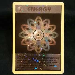 Rainbow Energy Pokemon Card
