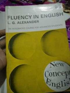 Fluency in englos by L.G. Alexander  dan TOEFL