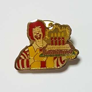 Happy Birthday  (Ronald McDonald), McDonald's Singapore Pin