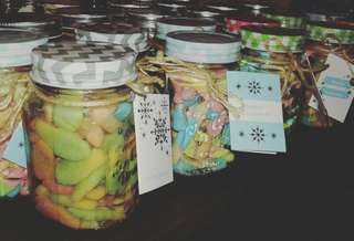 Gummies and Garlic starts at php 100. Mason jar plus 50.00