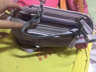 Purple sling