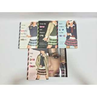 5 Ally Carter Gallagher Girl Spy Novel