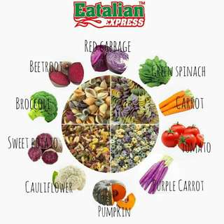 Eatalian Express Mixed Vege Pasta (+60134133840)
