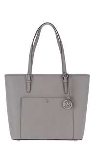 MICHAEL KORS POCKET TOTE (pearl grey)
