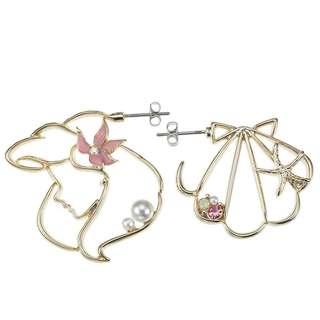 小魚仙耳環