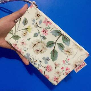 Cath Kidston Floral Zip purse w/ paperbag and tag