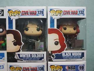 Funko Pop! Winter Soldier & Black Widow