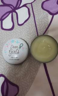 Dear girls lip balm etude house