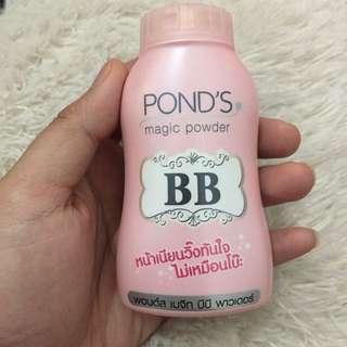 Ponds BB powder , warnanya natural masuk semua skintone