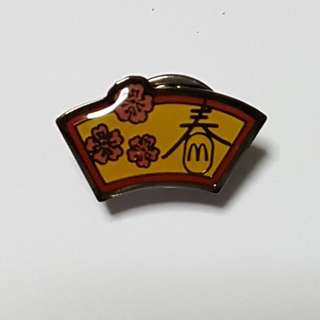 春 (Chinese New Year), McDonald's Singapore Pin