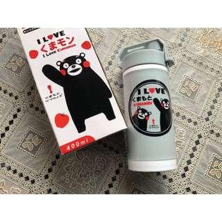 🚚 Kumamon Kumamoto 造型隨身杯 🇯🇵日本熊本熊 玻璃杯 隨身瓶