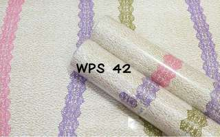 Wallpaper Dinding Motif Renda Uk. 10m
