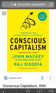 [Selling] Conscious Capitalism
