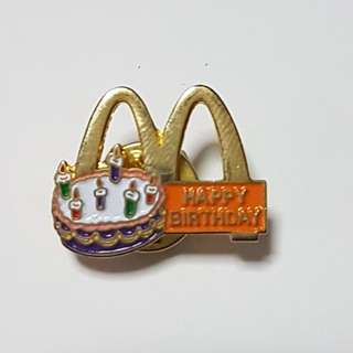 Happy Birthday, McDonald's Singapore Pin
