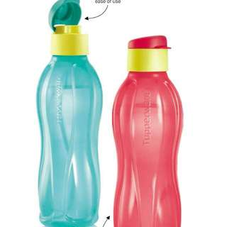 Tupperware Eco Bottle Fliptop 750ml (GREEN) (1)