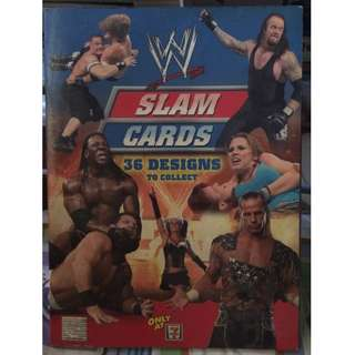 WWE slam cards collectibles