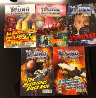 New Set of 10 The Young Scientists Level 4