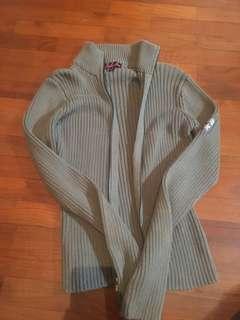zipup woolen sweater