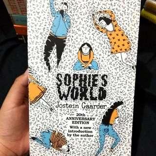 Sophie's World by Jostein Gaarder 20th Anniversary Edition