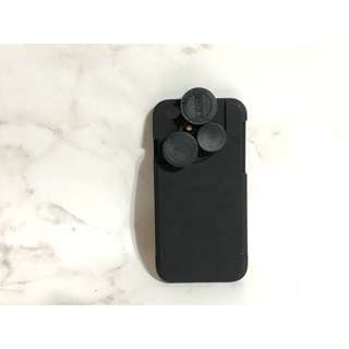 🚚 Pickigen iphone6 i6 4.7吋 4in1 4合1 廣角魚眼 微距 轉盤四合一鏡頭手機殼
