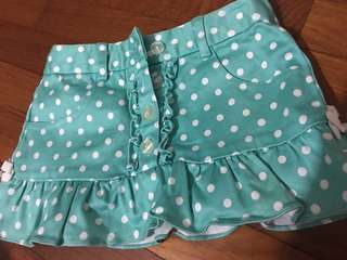 Skirt polka dot 12 month