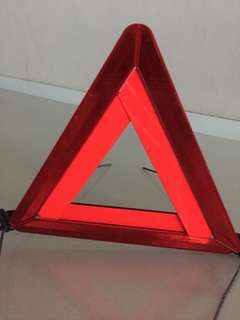 Car Breakdown Sign/Warning Triangle