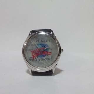 Planet Hollywood Watch Tin Black Strap Vintage
