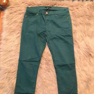 Size 28 Forever 21 Forest Green Pants