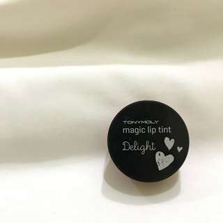 (Preloved) Tony Moly Delight Magic Lip Tint (Shade: 03 Red Berry