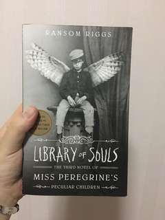 [NEW] LIBRARY OF SOULS: MISS PREGRINE'S THIRD NOVEL OF PECULIAR CHILDREN BY RANSOM RIGGS