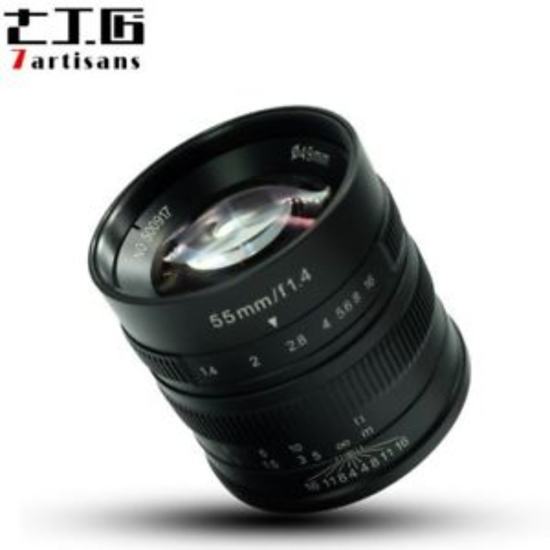 7Artisans 55mm F1.4 (Black)