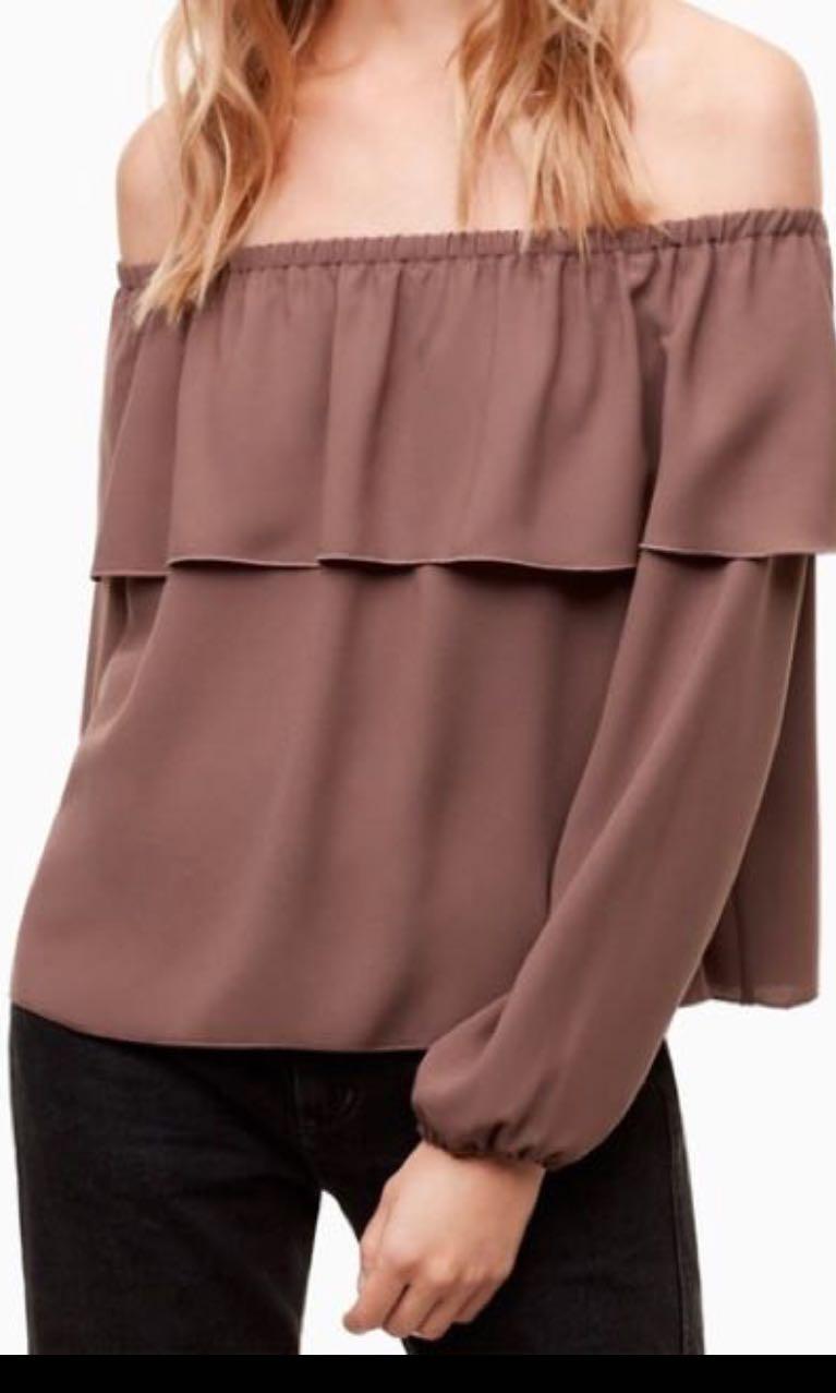 Aritzia morrel blouse