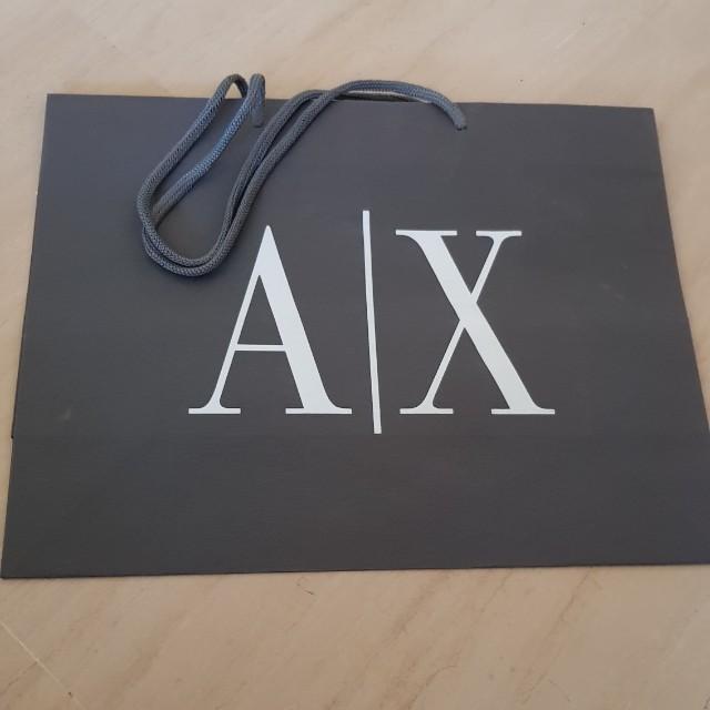 Armani Exchange ASH paper bags 61b7933604dcb