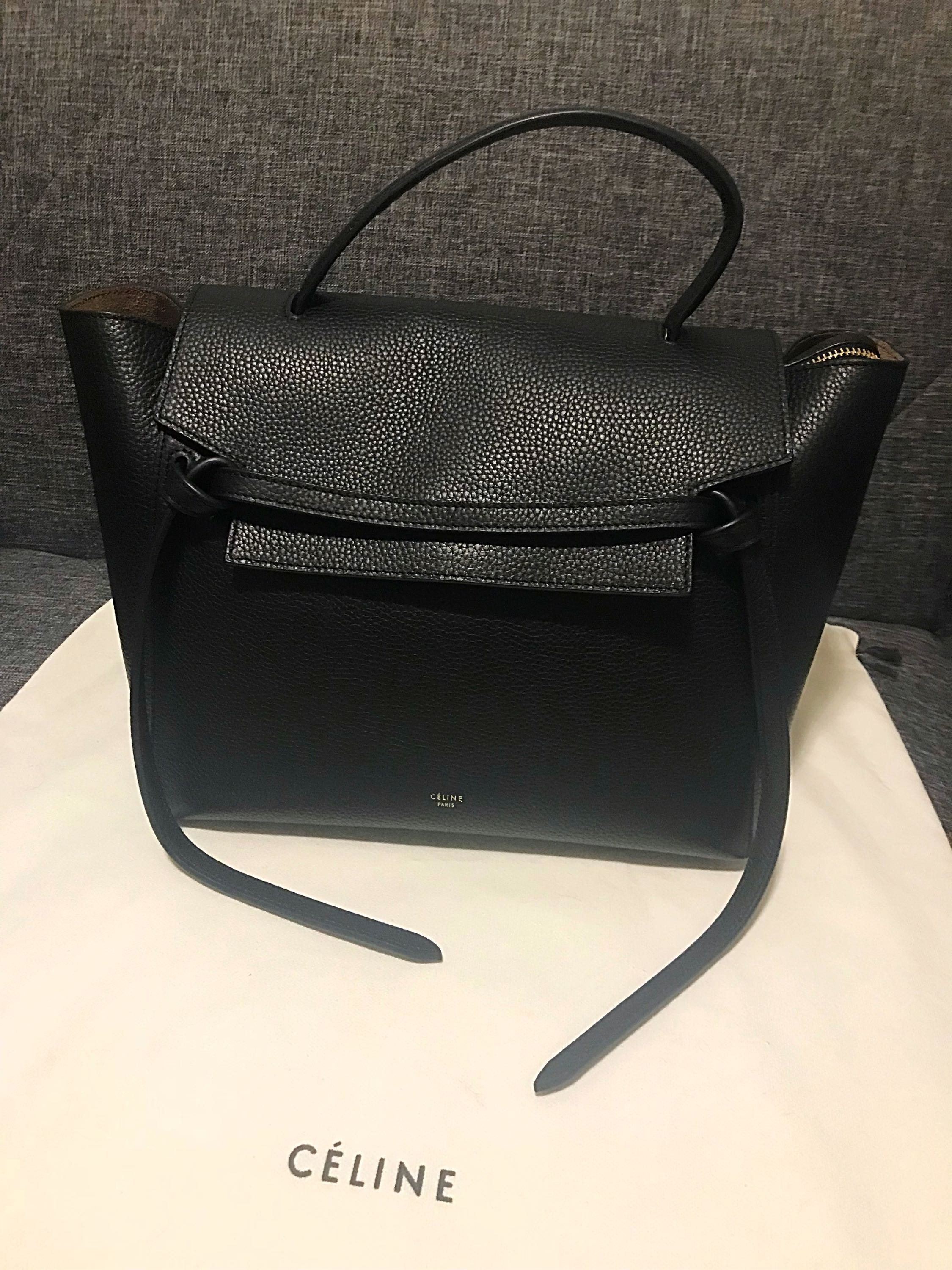 Authentic Celine Small Belt Bag