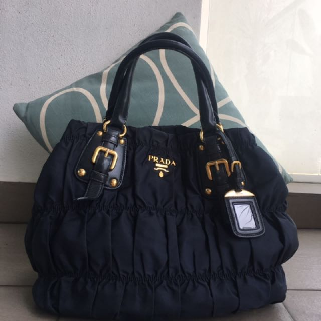 5643ed4ac406 Authentic Prada Gaufre Bag, Women's Fashion, Bags & Wallets on Carousell
